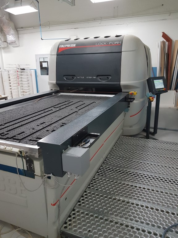 Used Ital  LOCKFORM PSS with pin support system  | Presses - Membrane