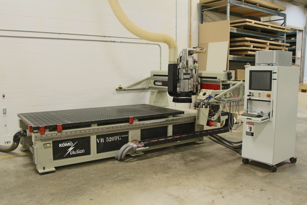 Used Komo Solution VR 510 TG | CNC Routers - Flat Table, Nesting
