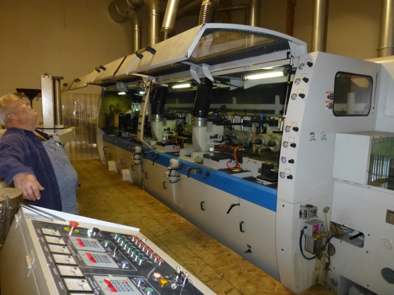 Leadermac, Planermac LMC 845 PL - 8 Head Moulder 16,