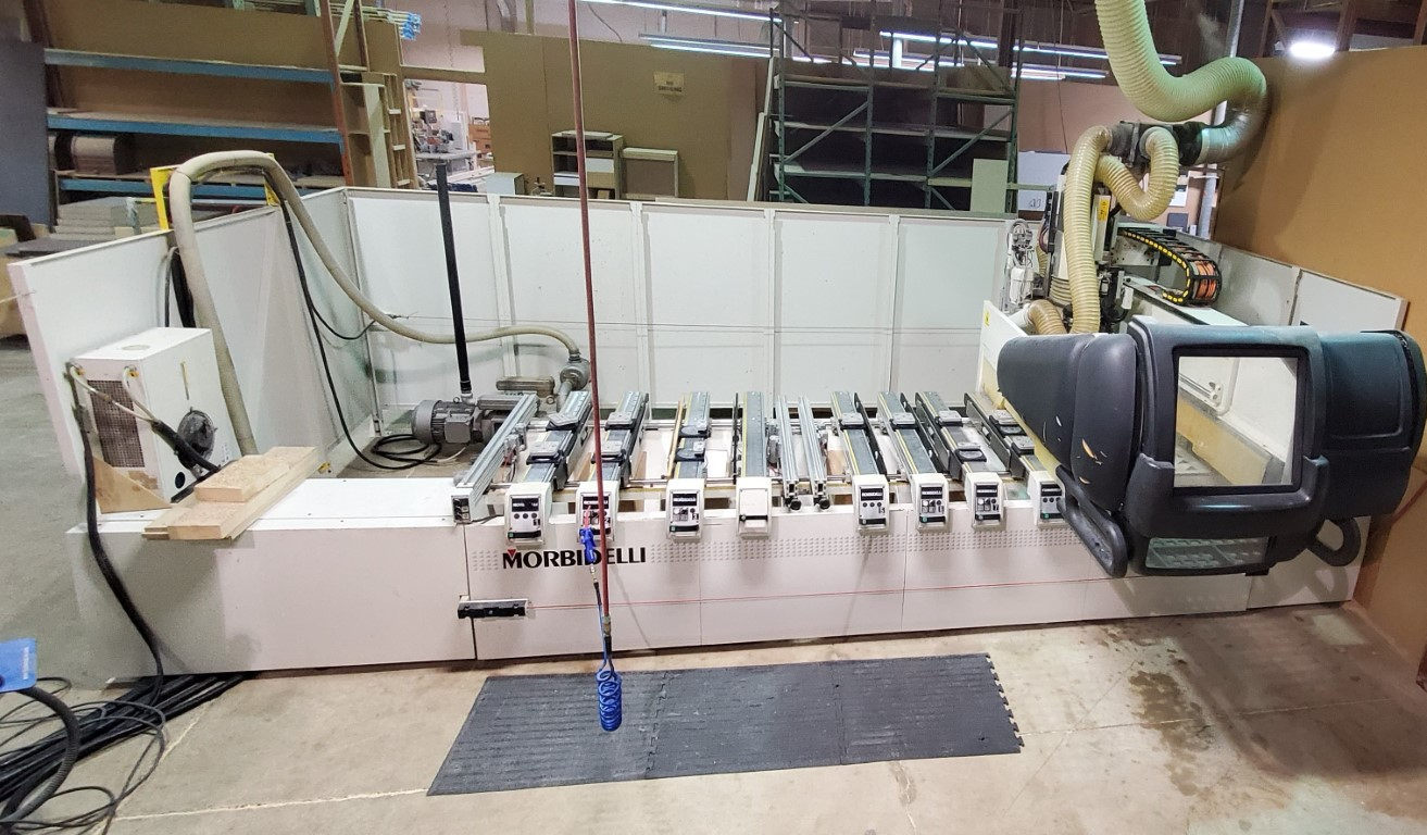 Morbidelli  AUTHOR 430 Super pod & rail CNC, 2007