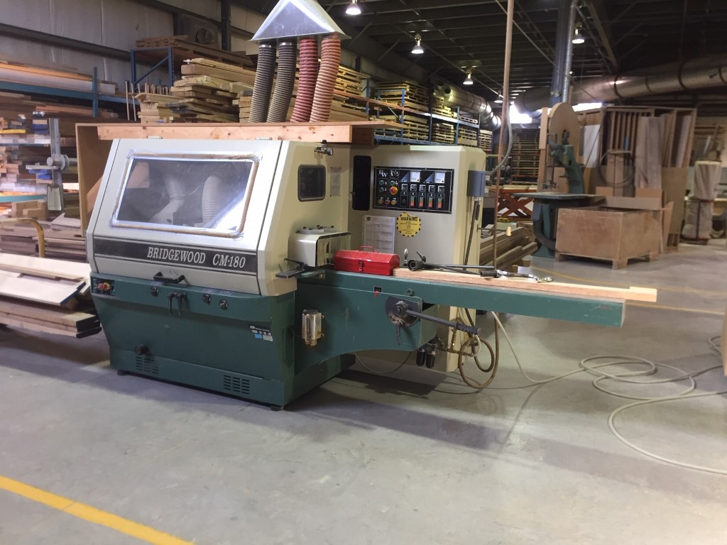 Bridgewood CM180 5 Head Moulder, 2000