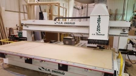 Used C.R. Onsrud 146C18CD | CNC Routers - Flat Table, Nesting