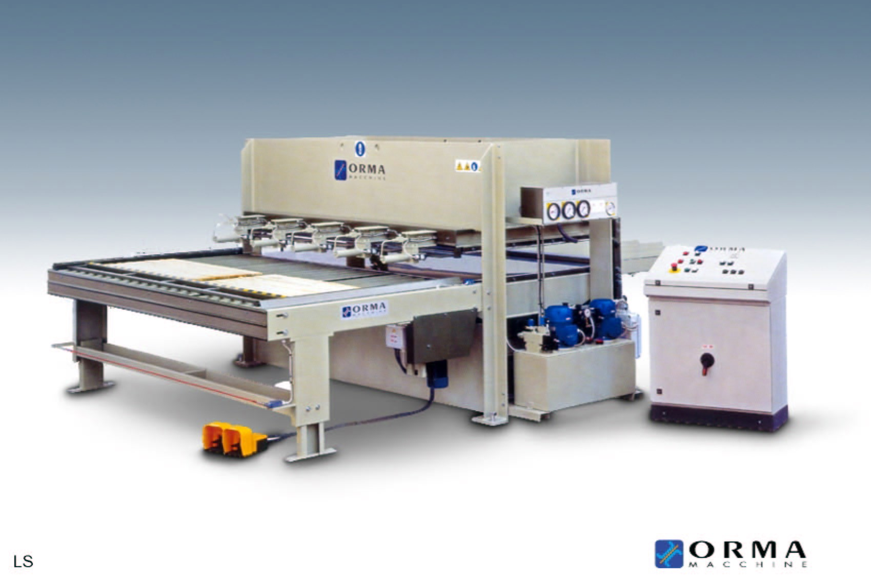 Used Orma LS 30/13 edge gluier  | Glue Equipment
