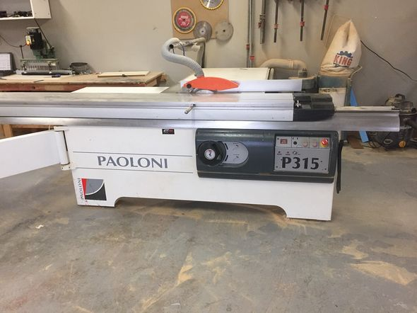 Used Paoloni P315 | Saws - Sliding Table, Table