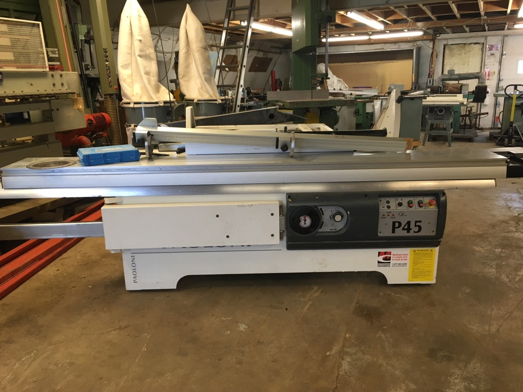 Used Paoloni P45 | Saws - Sliding Table, Table