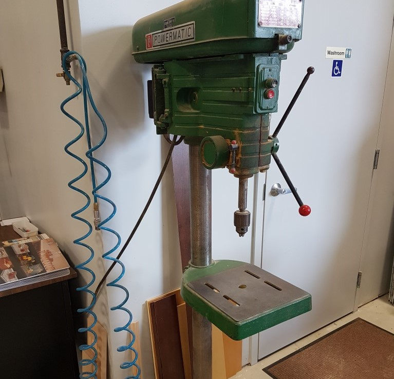 Used Powermatic 1150 heavy duty drill press | Boring Machines - Horizontal; Vertical and other Misc. Non 32mm