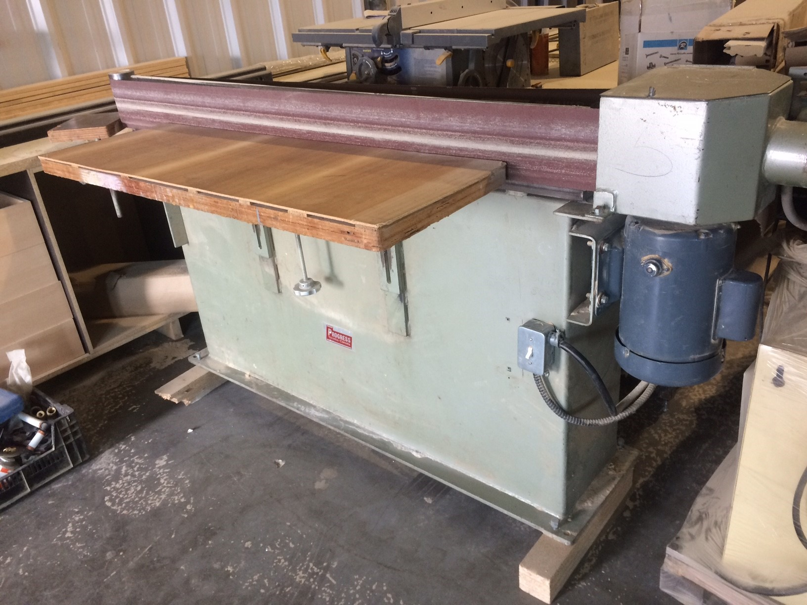 Progress PMC 152 edge sander,