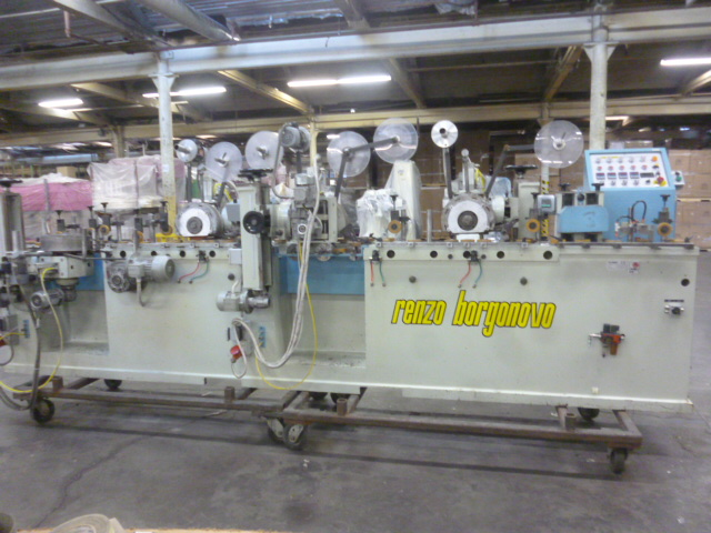 Used Renzo Borgonovo DORATRICE 4T - 96 | Laminating Equipment