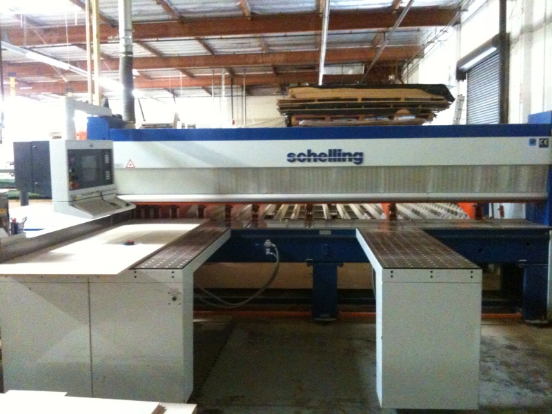 Schelling FL-430 Rear Load with updated Control Software, 2000