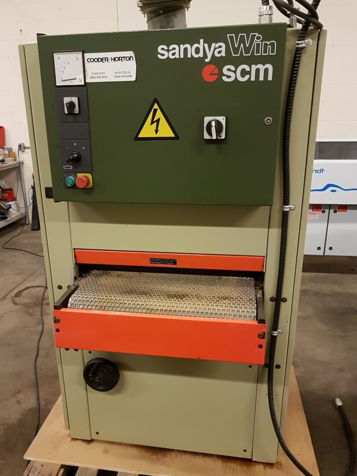 Used SCM Win CS 24 inch wide belt sander | Sanders - Wide Belt