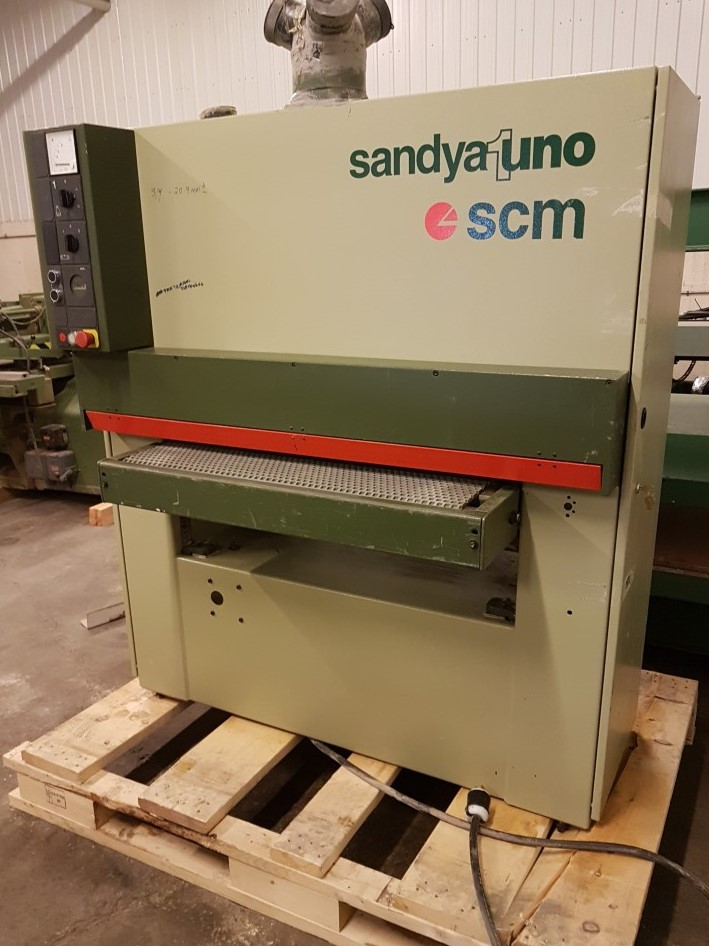 SCM Sanya UNO CS 37 in wide belt sander,