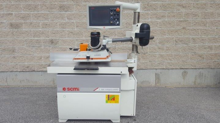 SCM T160 Vanguard  with HSK spindle, 2006