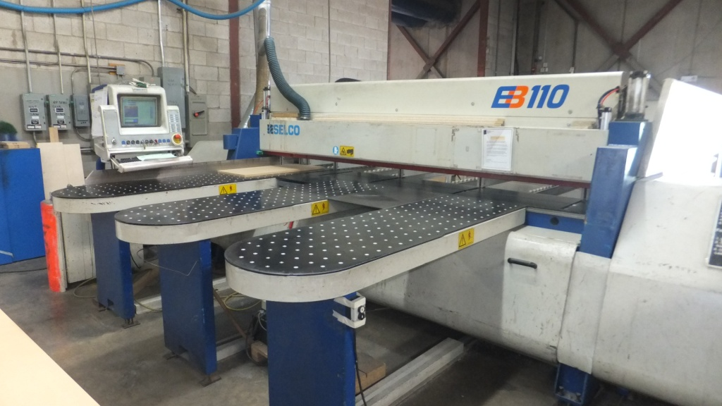 Selco EB-110 Front Loading Panel Saw, 2000