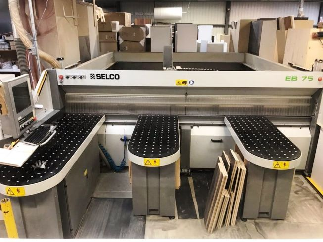 2008 Selco EB 75 Front Load Panel Saw