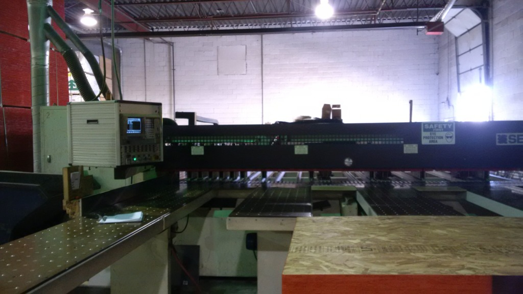 Selco WNT-200 Rear Load Panel Saw, 1995