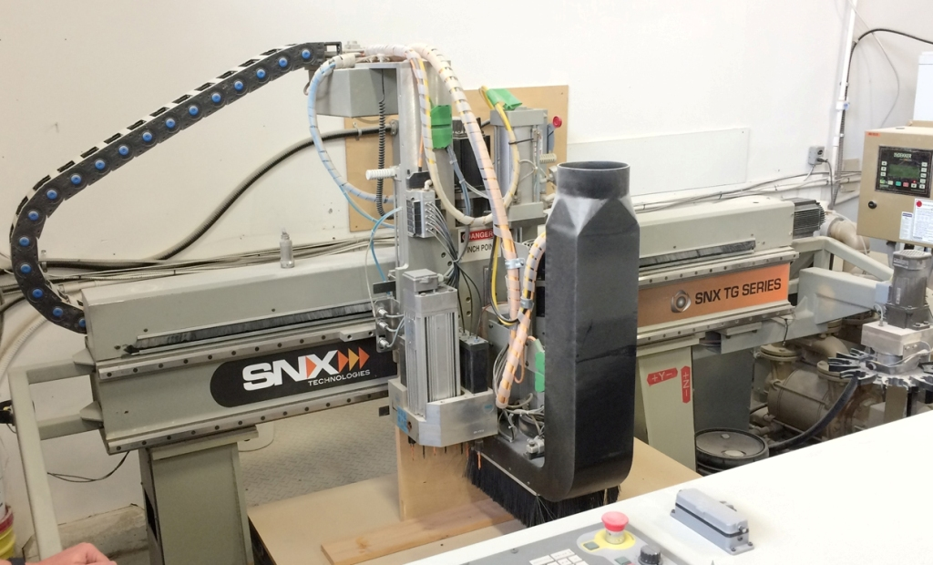 Used SNX/KOMO 408-TG | CNC Routers - Flat Table, Nesting