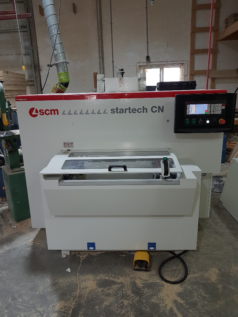 Used SCM Startech CN | CNC Machining Centers - Pod and Rail