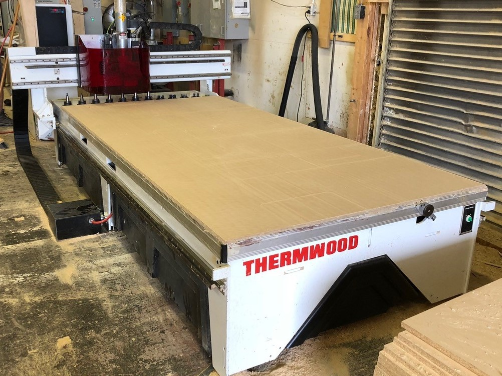 Thermwood CS 43-510 5 X 10 Nested base, 2010