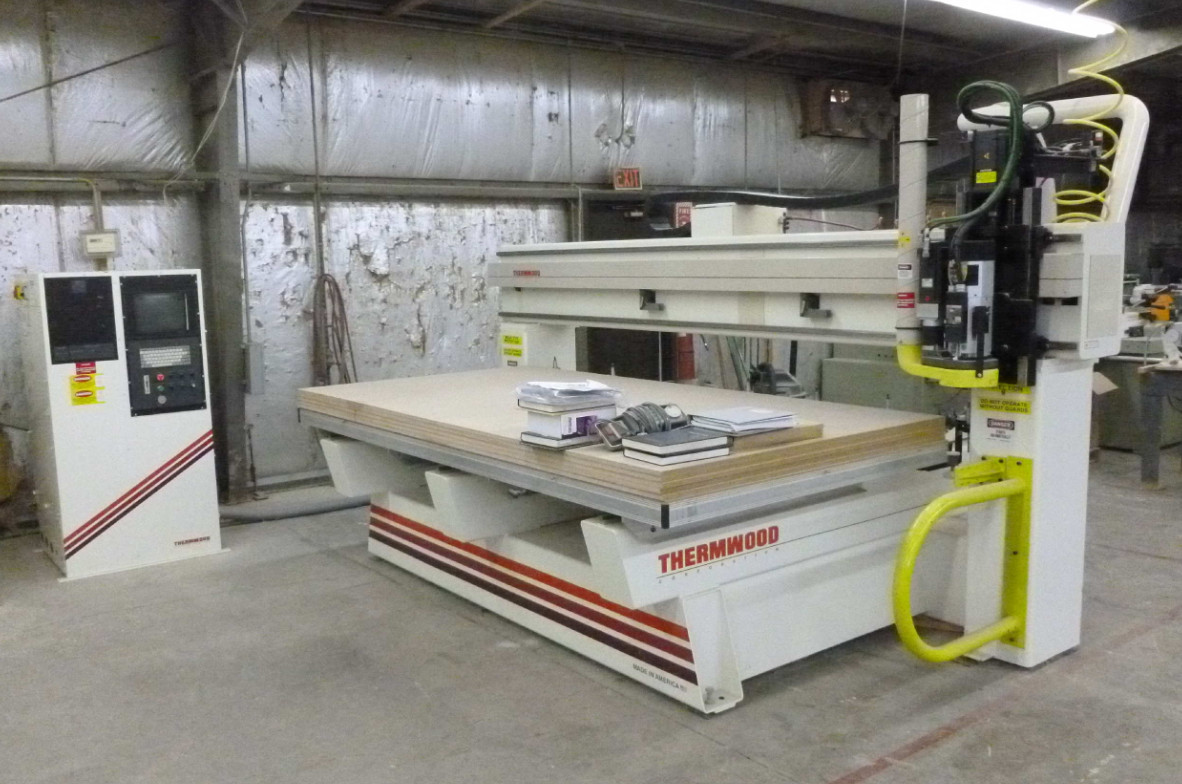 Thermwood M42-510 C axis, 2005