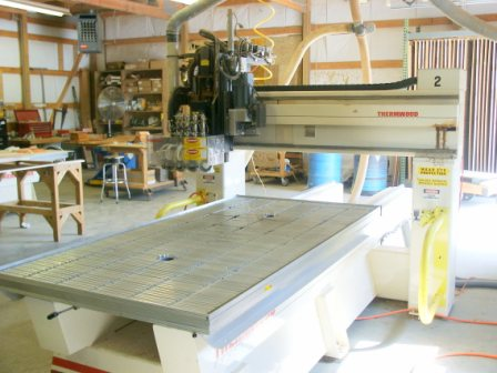 Thermwood C40 CNC Router, 2002