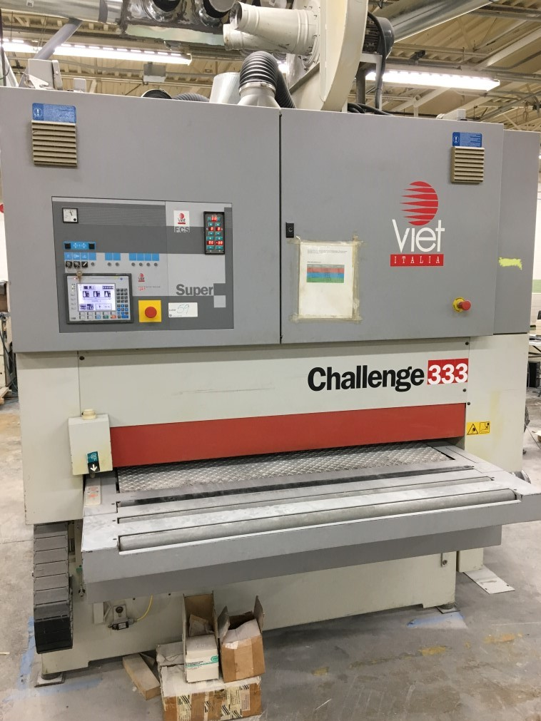 Viet Challenge 333, 1350mm wide belt sander, 2000<BR><FONT COLOR=RED><B>JUST RECENTLY REDUCED</B></FONT>
