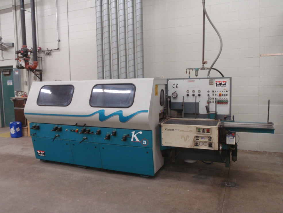 Wadkin 6 hd. K23 with grinder, 1998