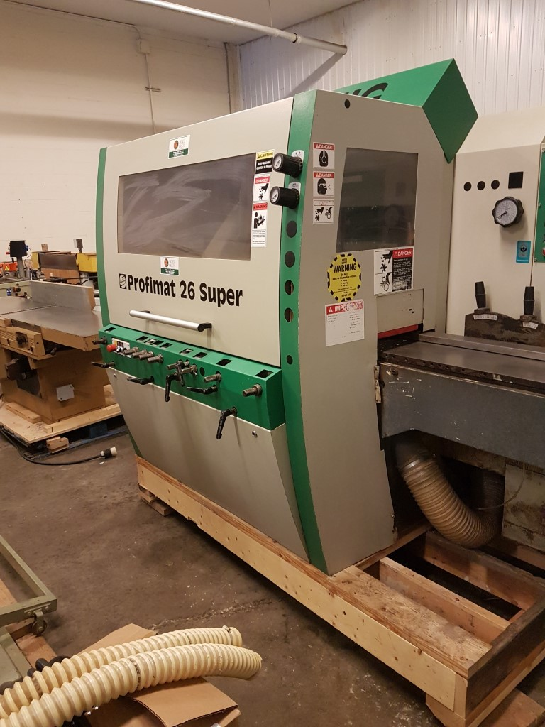 Weinig Profimat 26 Super 5 head moulder, 2001