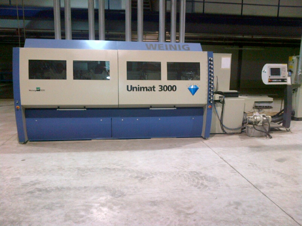 Used Weinig Unimat 3000 8 HD complete package | Moulders