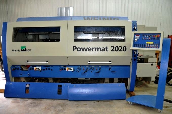 Weinig Powermat 2020, 2004