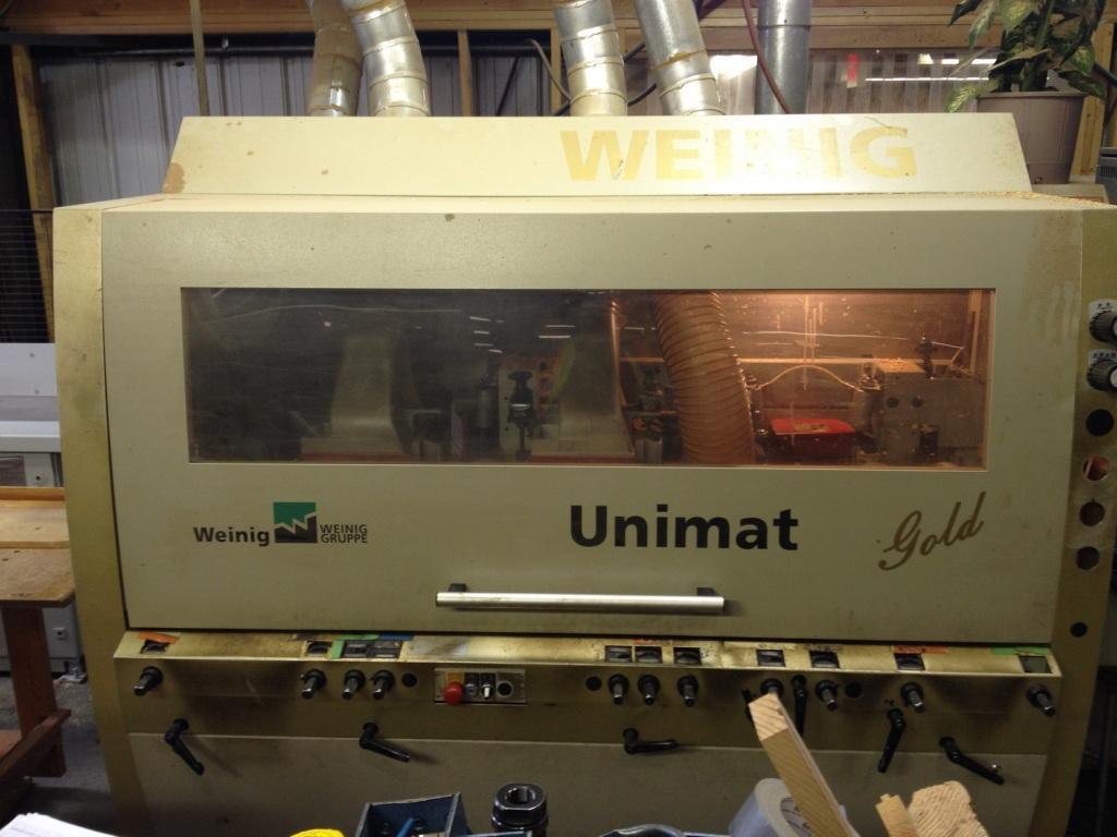Weinig Unimat Gold, 2002