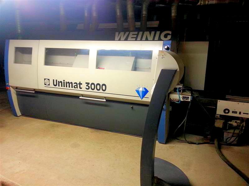 Weinig Unimat 3000, 2000