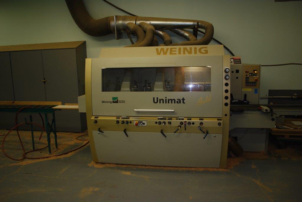 Weinig Unimat Gold, 2003