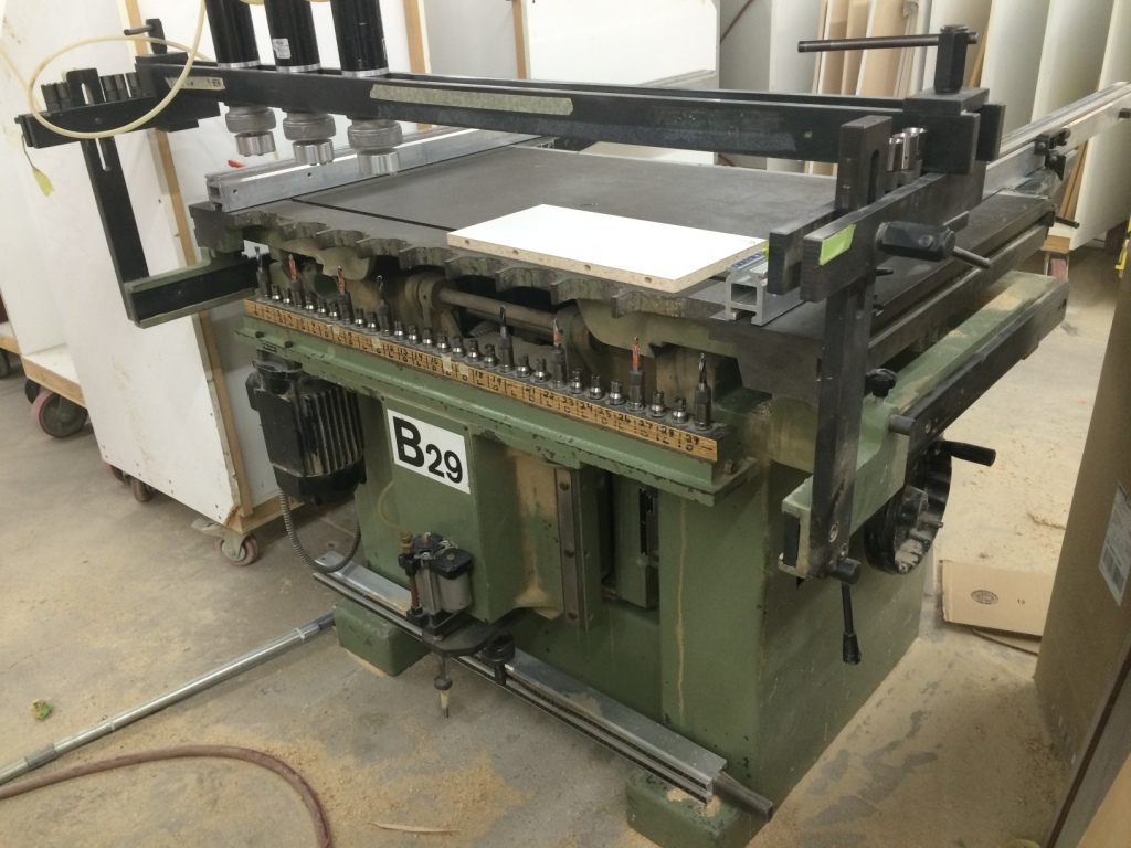 Used Zangheri & Boshetti B 29 S | Boring Machines - All 32mm and Through Feed
